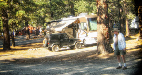 Mammoth Lakes Camping, RV Park, Tent sites